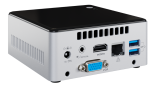 Platan Application Server - rear view